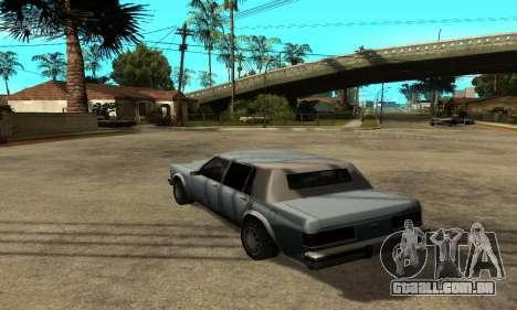 Sombras no estilo de RAIVA para GTA San Andreas segunda tela