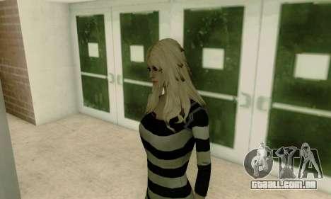 Young Blonde para GTA San Andreas quinto tela