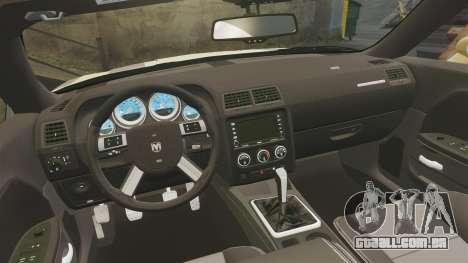 Dodge Challenger SRT8 2009 [EPM] APB Reloaded para GTA 4 vista lateral