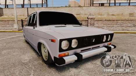 VAZ-2106 Zhiguli BUNKER para GTA 4
