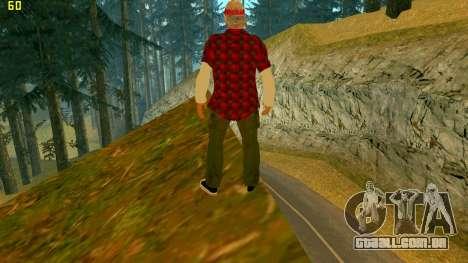 A nova textura Verdade para GTA San Andreas segunda tela