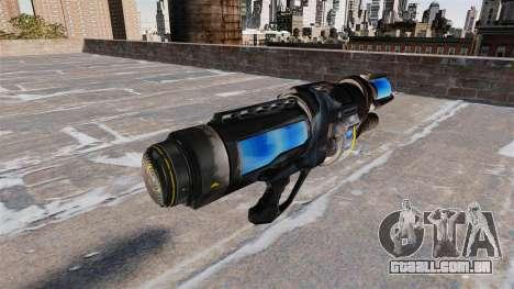 O congelamento de arma para GTA 4 segundo screenshot