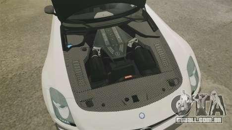 Mercedes-Benz SLS 2014 AMG Driving Academy v1.0 para GTA 4 vista interior