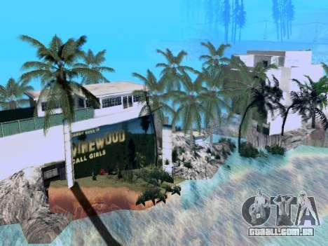 Nova ilha V2.0 para GTA San Andreas