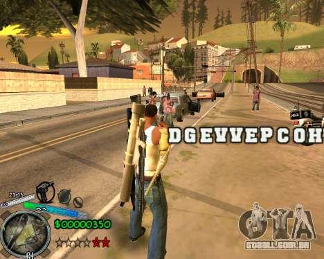 C-HUD Gor Life Ghetto para GTA San Andreas segunda tela