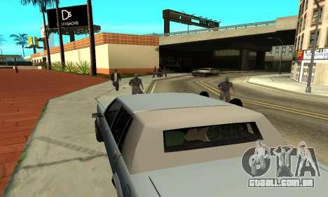 Sombras no estilo de RAIVA para GTA San Andreas sétima tela