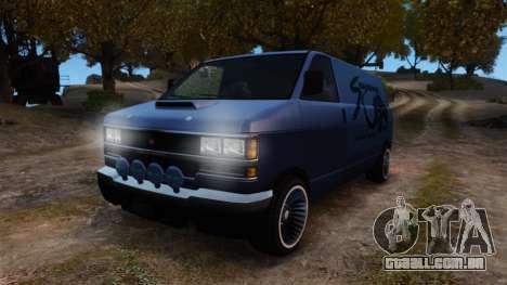 Burrito Bodybuilder para GTA 4 vista de volta