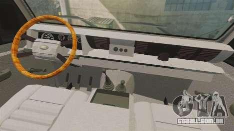 Land Rover Defender tecnovia [ELS] para GTA 4 vista de volta