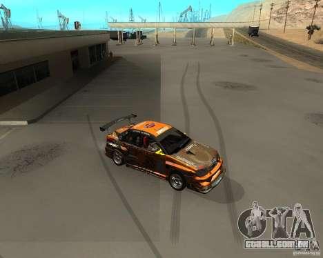 Cleo Drift para GTA San Andreas segunda tela