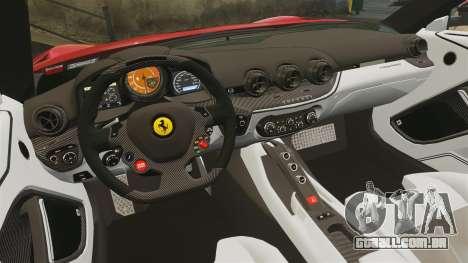 Ferrari F12 Berlinetta 2013 [EPM] Black bars para GTA 4 vista lateral