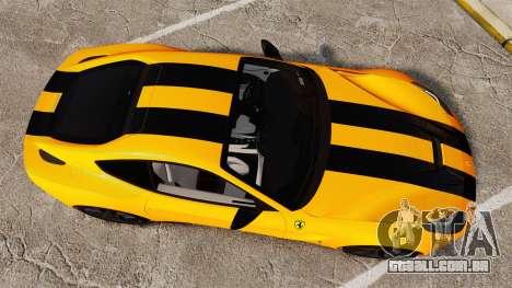 Ferrari F12 Berlinetta 2013 [EPM] Black bars para GTA 4 vista direita