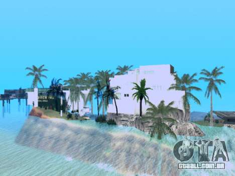 Nova ilha V2.0 para GTA San Andreas terceira tela