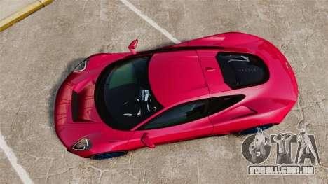 Jaguar C-X75 [EPM] para GTA 4 vista direita