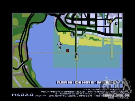 Nova ilha V2.0 para GTA San Andreas oitavo tela
