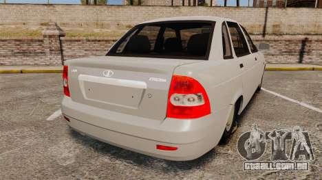 ВАЗ-Lada 2170 Priora v2.0 para GTA 4 traseira esquerda vista