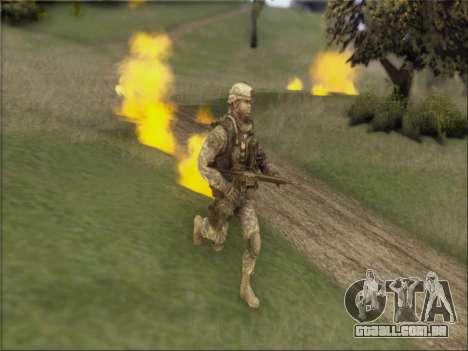 US Army Skin para GTA San Andreas segunda tela