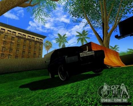 Most Wanted Enb v.2.0 para GTA San Andreas terceira tela