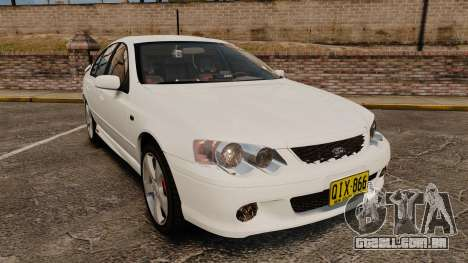Ford Falcon XR8 Police Unmarked [ELS] para GTA 4