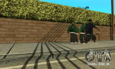 Sombras no estilo de RAIVA para GTA San Andreas terceira tela