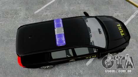 Volvo V70 Swedish TULL [ELS] para GTA 4 vista direita