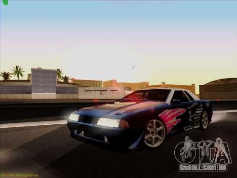 Vinis para Elegia para GTA San Andreas vista interior