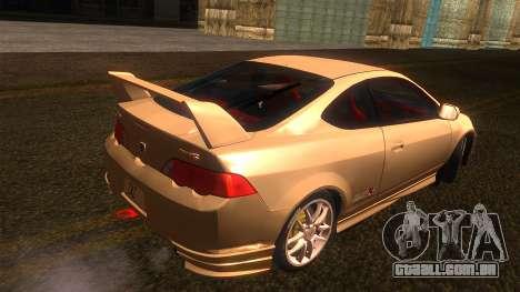Honda Integra Type R para GTA San Andreas esquerda vista