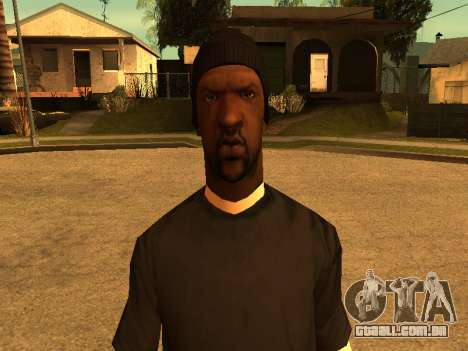Beta Sweet skin para GTA San Andreas quinto tela