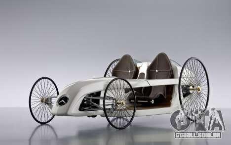 Arranque telas Mercedes-Benz F-CELL Roadster para GTA 4 por diante tela