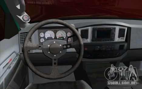 Dodge Ram SRT10 Shark para GTA San Andreas vista direita