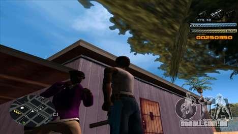 C-HUD Light para GTA San Andreas segunda tela