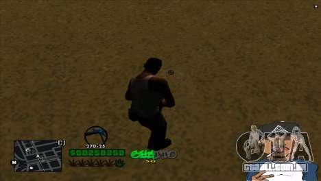 C-HUD By Markus para GTA San Andreas segunda tela