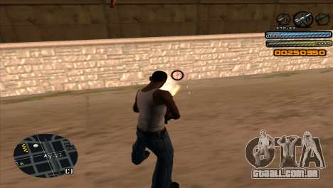 C-HUD Light para GTA San Andreas por diante tela