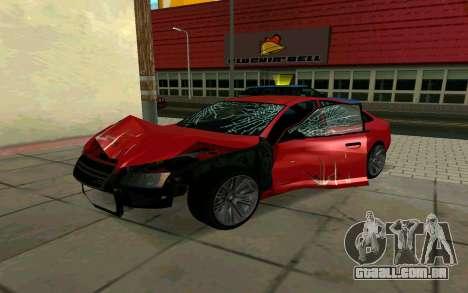 GTA V Obey Tailgater para GTA San Andreas vista direita