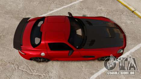 Mercedes-Benz SLS 2014 AMG GT Final Edition para GTA 4 vista direita
