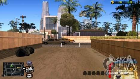 C-HUD Cão WOW para GTA San Andreas quinto tela