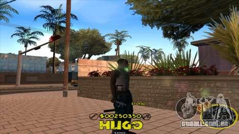 C-HUD Vagos by Hugo para GTA San Andreas