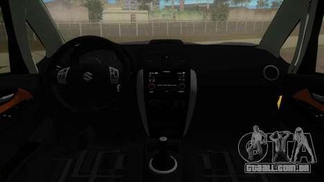 Suzuki SX4 Sportback para GTA Vice City deixou vista