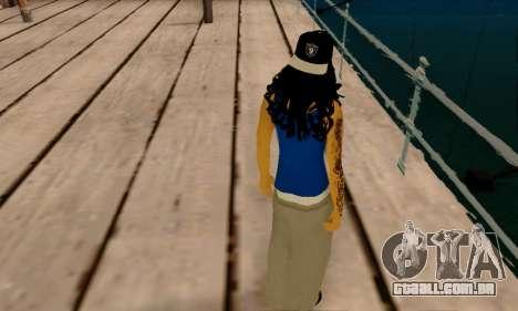 Ophelia v2 para GTA San Andreas sexta tela