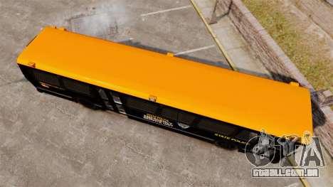 Brute Bus ESU [ELS] para GTA 4 vista direita