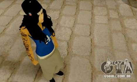 Ophelia v2 para GTA San Andreas terceira tela