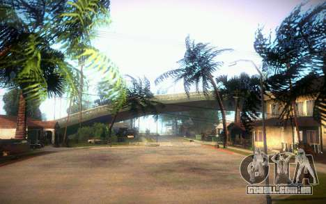 New Grove Street para GTA San Andreas quinto tela