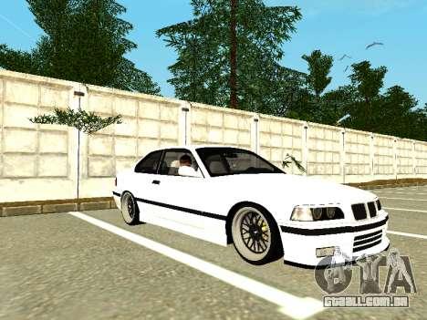 BMW M3 E36 Coupe para GTA San Andreas esquerda vista