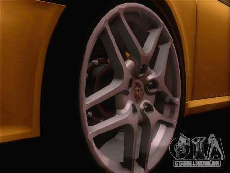 Porsche 911 Targa 4S para GTA San Andreas vista traseira