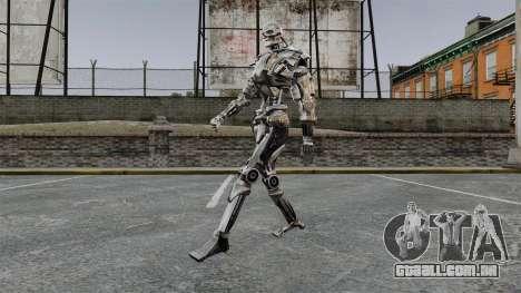 Terminator T-800 para GTA 4 terceira tela