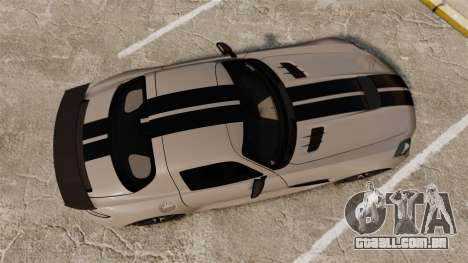 Mercedes-Benz SLS 2014 AMG NFS Stripes para GTA 4 vista direita