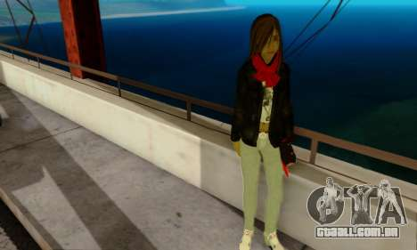 Kim Kameron para GTA San Andreas terceira tela