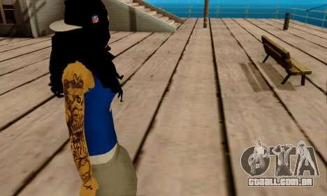 Ophelia v2 para GTA San Andreas quinto tela