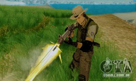 Resident Evil Apocalypse S.T.A.R.S. Sniper Skin para GTA San Andreas