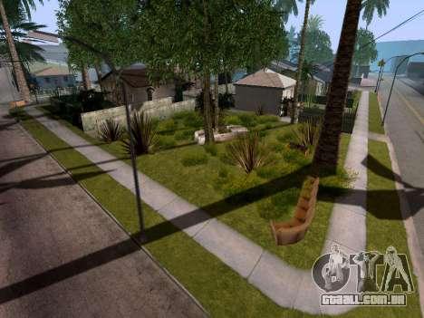 New Grove Street v3.0 para GTA San Andreas por diante tela
