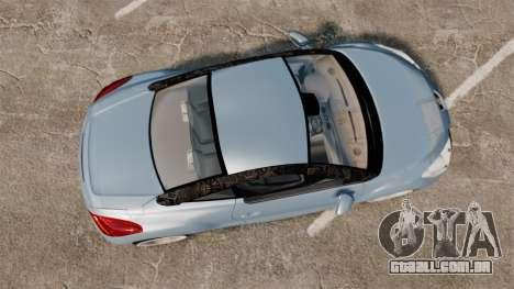 Peugeot RCZ para GTA 4 vista direita